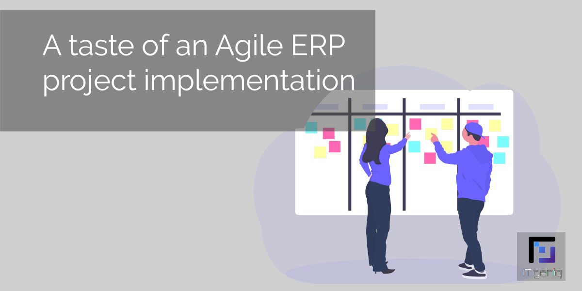 A taste of an Agile ERP project implementation